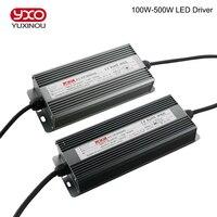 2 ADET LED Sürücü Güç Kaynağı 100 W 150 W 200 W 300 W 400 W 500 W Su Geçirmez Aydınlatma Transformers LED Sel Büyümek Bitkiler Işık Için