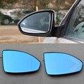 2 pcs Novo Poder Aquecida w/Turn Signal Vista Lateral Espelho Óculos Azul Para Chevrolet Cruze 200-