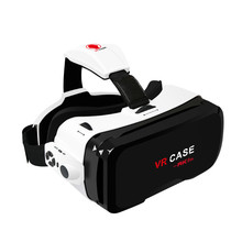 VR Case 6 VR Glasses Virtual Reality 3d Glasses Binocular Cheap Virtual Glasses Screen Video Goggles Wearable Devices 4.5-6