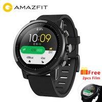 [Английская версия] Huami Amazfit Stratos Pace2 Смарт часы Спорт 1,34 дюймов 2.5D Экран 5ATM Водонепроницаемость gps компании Firstbeat часы