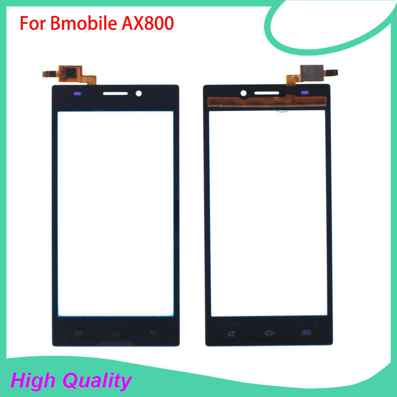 High Quality Touch Screen Digitizer Assembly For Bmobile AX800 800 100% Guarantee Mobile Phone Touch Panel Free Tools