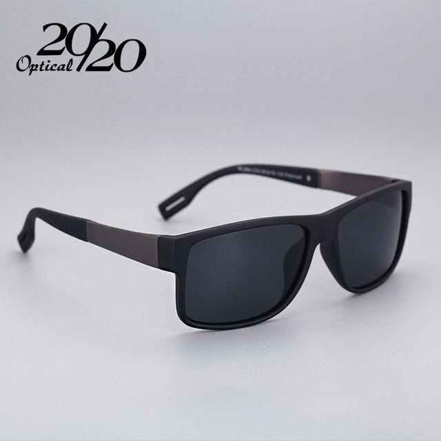 1a8997d767b1 Классическая Мода Поляризованные Черные Очки Мужчин Очки Для Вождения  Рыбалка Квадратных Солнцезащитные Очки С Коробка Gafas
