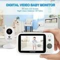 Vigilabebe cry детская камера bebe монитор 3,5 дюймов ЖК-дисплей ИК ночного видения видеодомофон 8 колыбельных датчик температуры vigila bebes