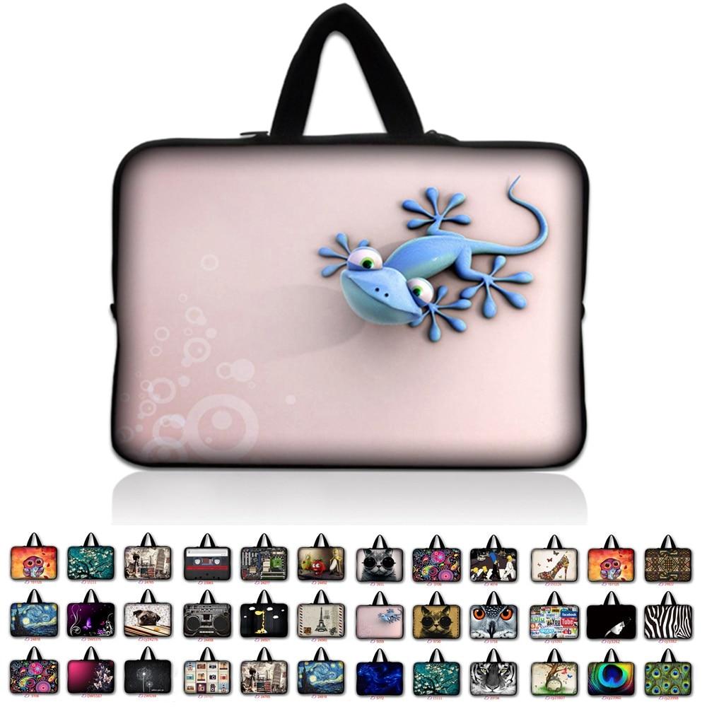 7 10 12 13 13.3 14.4 15.6 17.3 inch Handle Laptop Sleeve Bag Notebook Smart Cover Case PC Handbag For Macbook Air/Pro/Retina *8