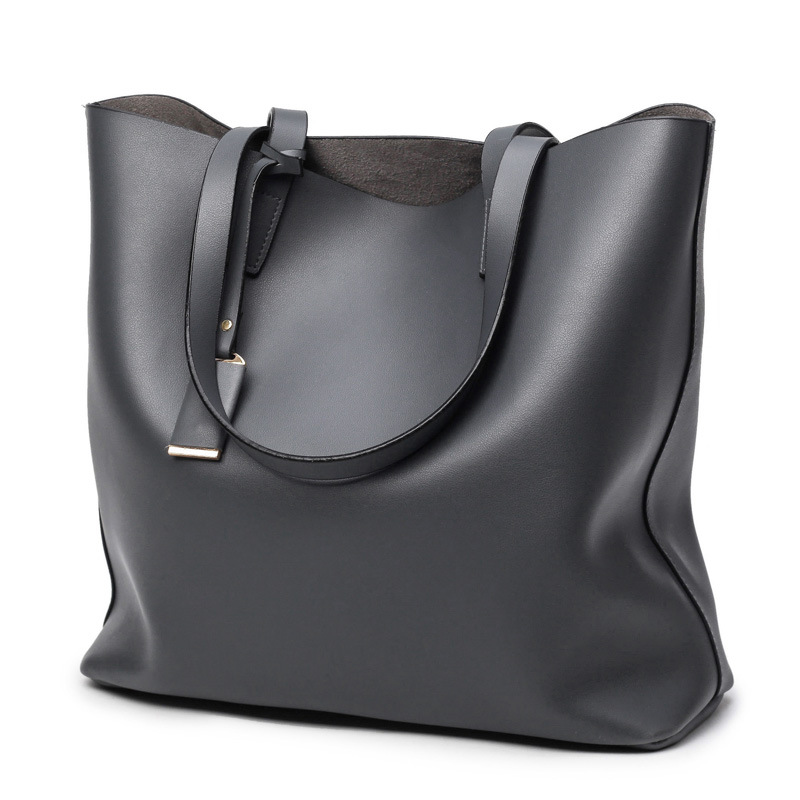 Di Pelle Qualità Bolsa Americani 2018 Elaborazione Donne Black E gray In A Famose Delle blue Bag Marche Casual Spalla Tote Dell'unità Borse Europei Feminina Alta wqqHpOP
