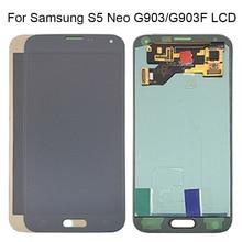 AMOLED lcd S5 Neo G903 G903F дисплей 100% протестированный рабочий сенсорный экран в сборе для samsung S5 Neo lcd дисплей Galaxy с инструментами