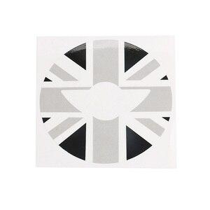 Image 3 - Adhesivos de decoración para el centro del volante Union Jack para BMW MINI Cooper JCW F55 F56 accesorios de estilo de coche Interior
