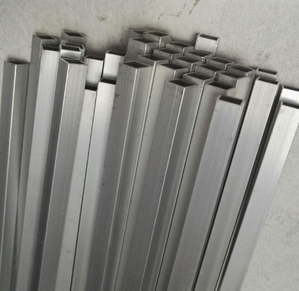 Heimwerker 10*10*1mm Aluminium Square Tube/diy Fernbedienung Boot Rahmen/technologie Zubehör/aluminium Rohr/diy Modell Zubehör