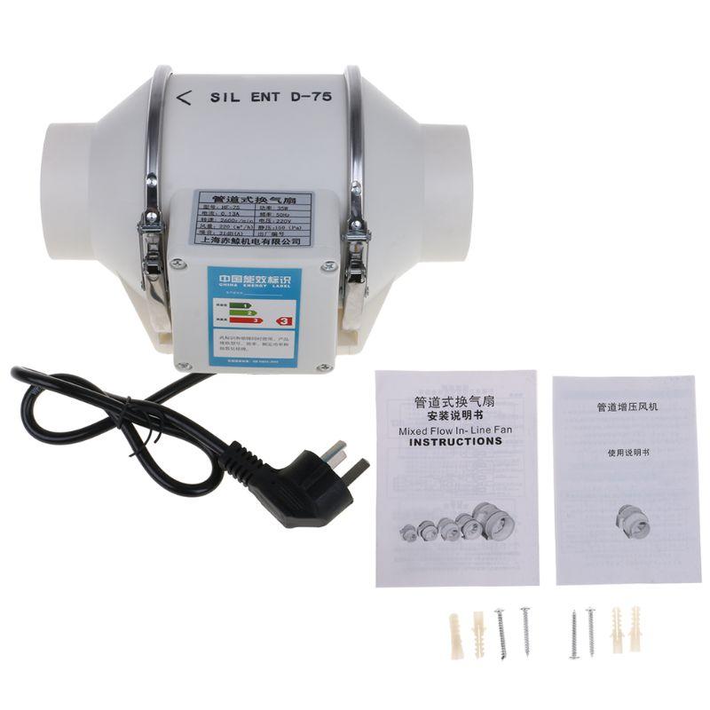 Vendita Economica Inline Condotto Della Ventola Tubo Estrattore Booster Mini Ventole Di Ventilazione A Soffitto Ventilatore Wc Ventilatore