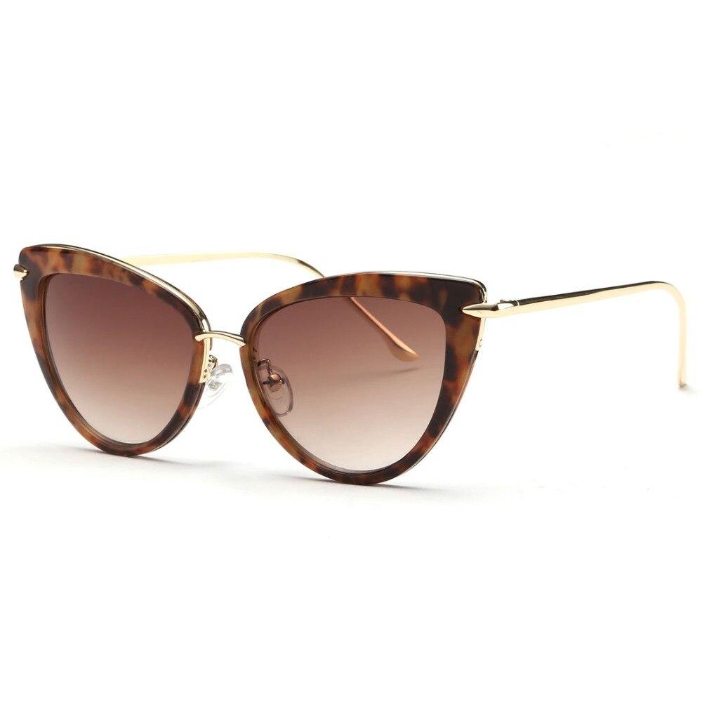 AEVOGUE Najmodniejsze Okulary dla Kobiety Luksusowe Okulary Przeciwsłoneczne Retro 2019 Polaryzacyjne UV400 5