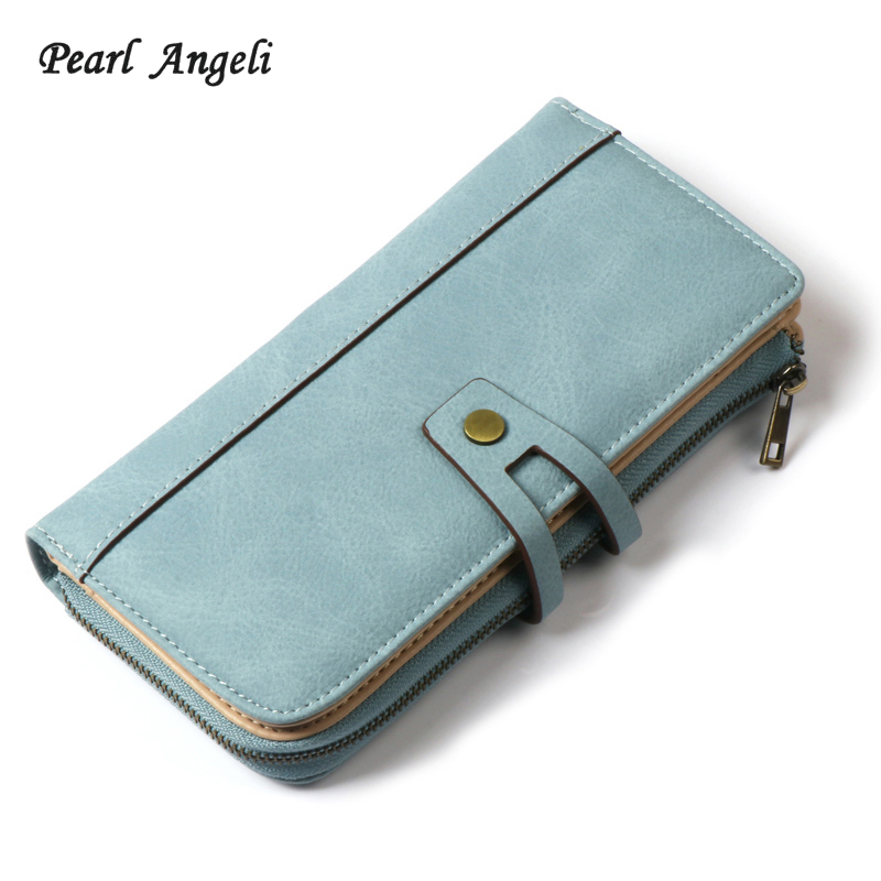2018Women Wallet Long Designer PU Leather Coin Purse Ladies Clutch Credit Card Holders Hasp Clutch Purse Money Bag Wallet Female декор blau fifth avenue dec tyffanny a 25x75
