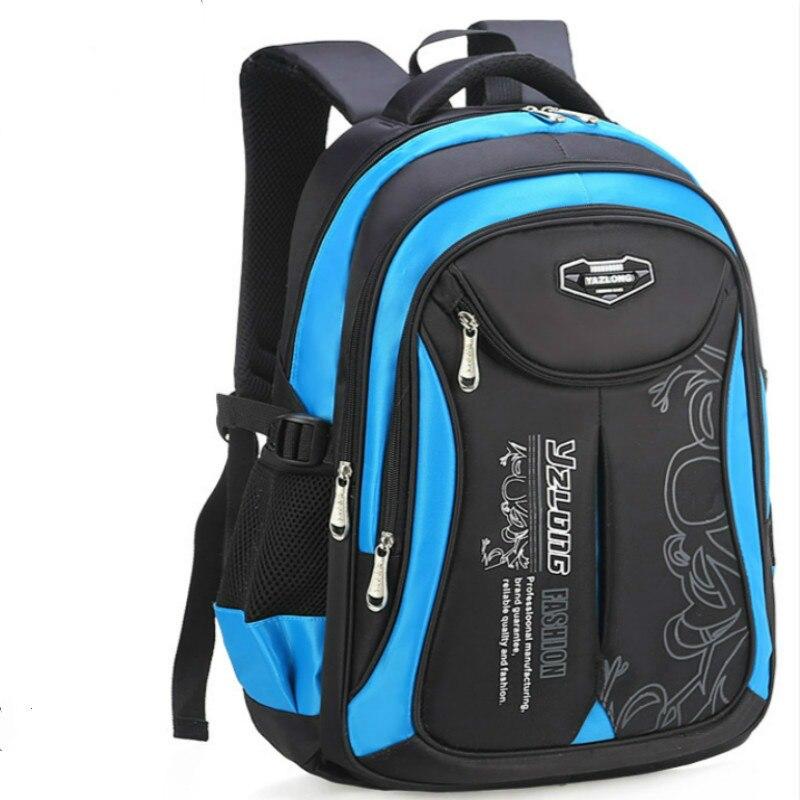 2018 Children School Bags Boys Girls Kids Satchel Primary School Backpack Orthopedic Schoolbag Backpack Kids Mochila Infantil