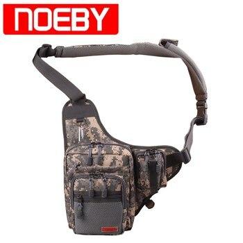 Noeby РЫБОЛОВНЫЕ Bag23 * 18*8 см одного плеча рыболовные снасти Водонепроницаемый рюкзак сумка Crossbody ремень сумки Bolsa Pesca