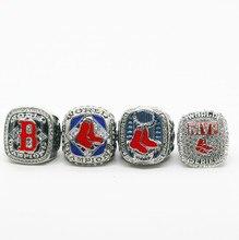 4 шт. в упаковке 2004 2007 2013 Бостон ред Сокс чемпионат мира серии кольцо