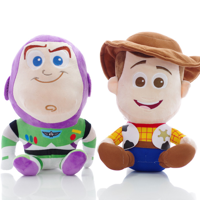 6ce9a4f0fcf Disney Plush Toys Toy Story 2Pcs lot 20cm Woody Buzz Lightyearfor Stuffed  Plush Doll Soft Toys For Kids Children Christmas Gift