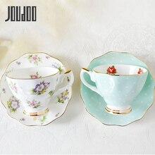 JOUDOO European Bone china coffee set Creative simple ceramic porcelain dish Afternoon tea milk cup 200ML 35