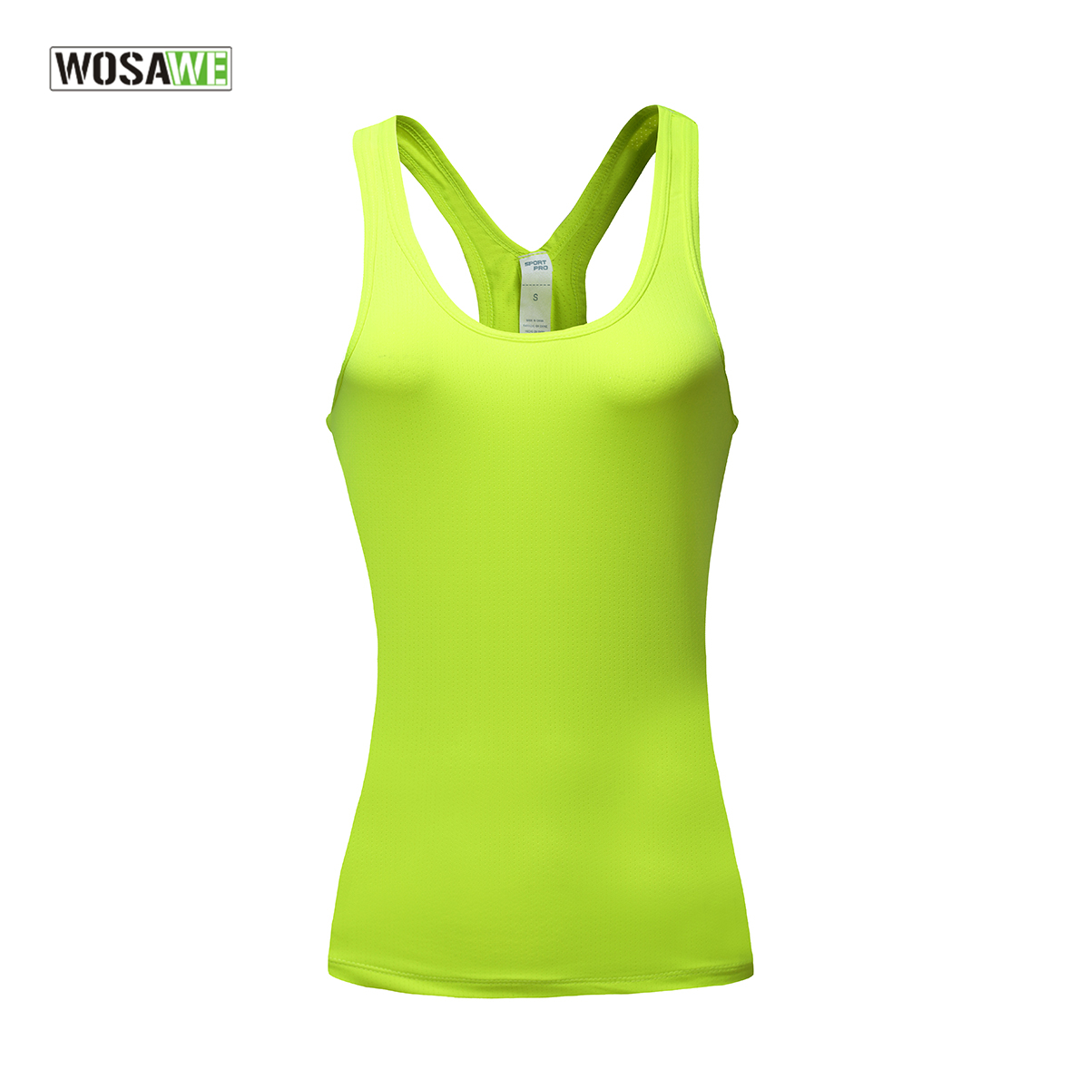 WOSAWE Atmungs Radfahren Weste Sexy Weibliche Fitness Weste Gym Yoga Lauf Oben Sport Weste Kleidung Kreuz Schulter Gurt