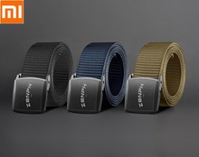 Металлический ремень Youpin для активного отдыха, тактический ремень YKK, пластиковая пряжка, высокотехнологичный Тактический спортивный ремень для мужчин