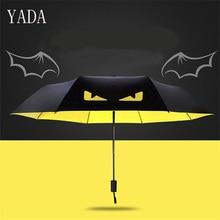 YADA New Fashion Personality Creative The Eye Of Devil Folding Umbrella For Men Wind Proof-portable Anti UV YS315