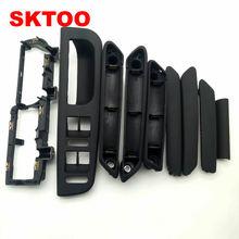 SKTOO 9 шт. черный для Volkswagen Passat B5 внутренняя дверная ручка/внутренняя ручка/ВНУТРЕННЯЯ РУЧКА