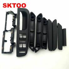 9pcs black For Volkswagen Passat B5 inner door handle / interior inside