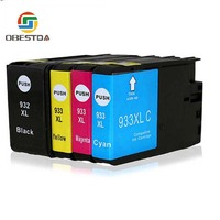 hp officejet Compatible Ink Cartridge Replacement For HP 932 XL 933 XL for Officejet 6100 6600 6700 7110 7510 7610 7612 Printers (1)