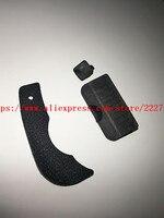 UM Conjunto de USB DC IN HDMI AV OUT Interface Terminal de Borracha Capa & Back Polegar De Borracha Parte Para Nikon d90