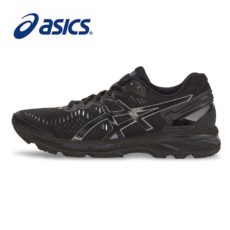 Original ASICS Men Shoes Low GEL-KAYANO 23 Breathable Cushion Light Running Weight Sports Shoes Sneakers Outdoor Athletic T646N недорго, оригинальная цена