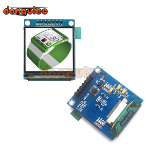 Image 2 - dongutec 1.5 inch 7PIN Full Color OLED module Display Screen SSD1351 Drive IC 128(RGB)*128 SPI Interface for 51 STM32 Arduino