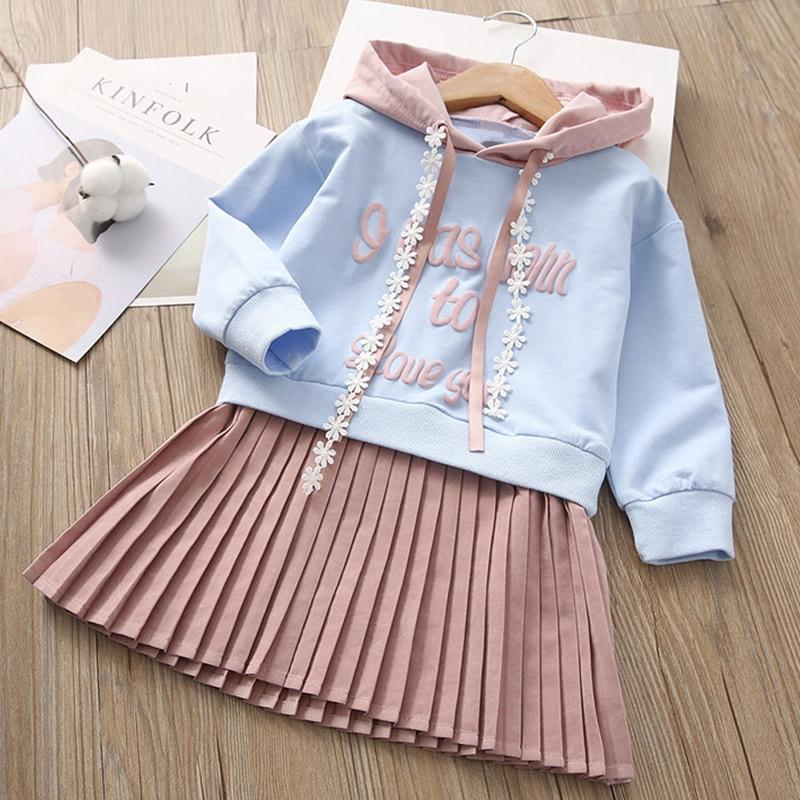 HTB14PAFdqSs3KVjSZPiq6AsiVXaK Melario Girls Dresses Fashion Kids Girl Dress Printing Long Sleeve Princess Dress Casual Kids Dresses Floral Children's Clothing