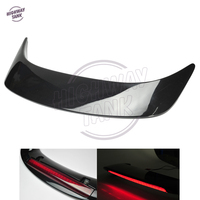 Black Motorcycle LED Rear Trunk Spoiler with Red Lens case for Honda GL1800 GOLDWING 2001 2011 New