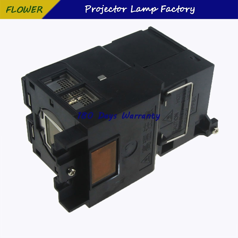 TLPLV8 high quality projector lamp with housing for TOSHIBA T45 TDP T45 TDP T45U TLP T45 Projectors with 180 days warranty in Projector Bulbs from Consumer Electronics