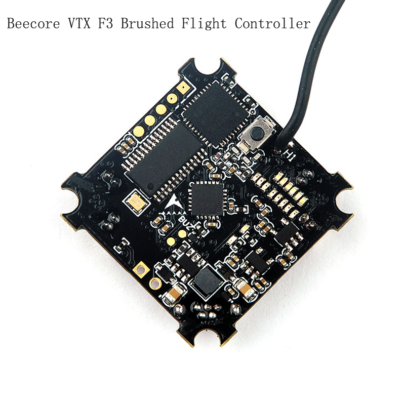 Beecore VTX F3 Brushed Flight Controller Integrated OSD 25MW Photography OSD A/V Transfer Quadcopter Tiny676x7x Flight Control micro minimosd minim osd mini osd w kv team mod for racing f3 naze32 flight controller