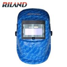 RILAND Auto darkening welding helmet TIG MIG MMA electric welding mask/helmet/welder cap/lens for welding недорго, оригинальная цена