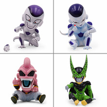 4 Style 11-13cm Dragon Ball Z Majin Buu Boo Action Figure Anime Cartoon DBZ PVC Toys Collection Doll Model For Kids