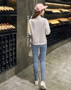 Image 5 - ฤดูใบไม้ร่วงเบสบอล BOMBER แจ็คเก็ตสตรี Windbreaker เสื้อกันหนาว Harajuku Streetwear Coat Casaco Feminino chaqueta mujer jaqueta