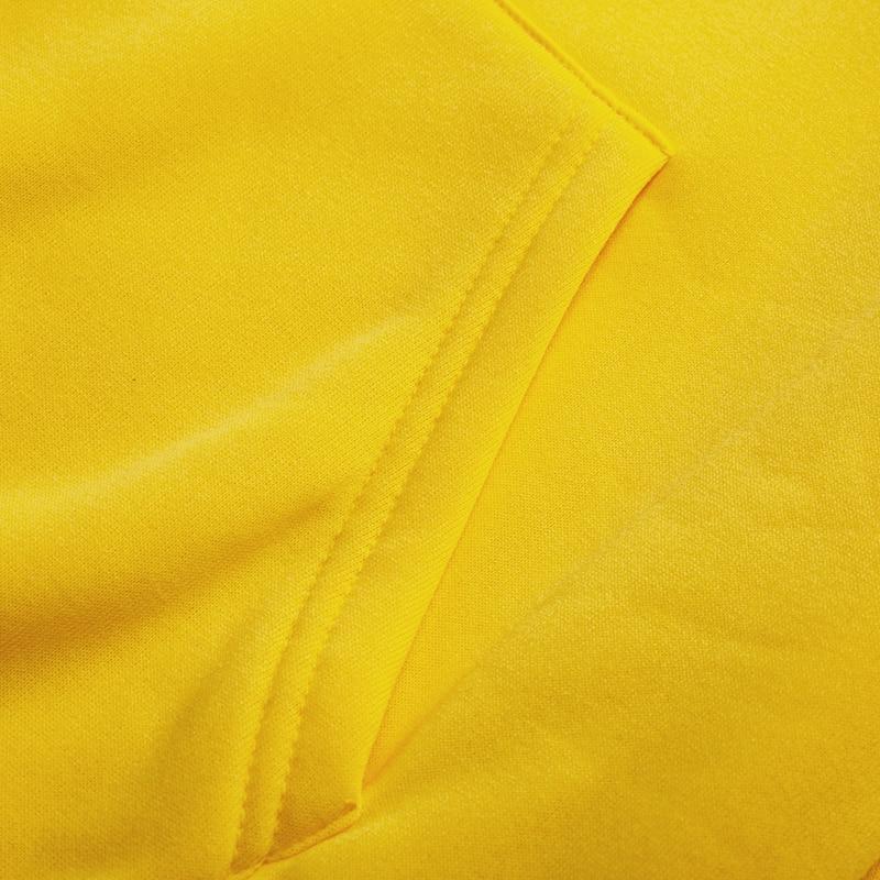 19 women's long-sleeved plain hooded sweatshirt plain multi-color men's and women's casual pullover hoodie 31
