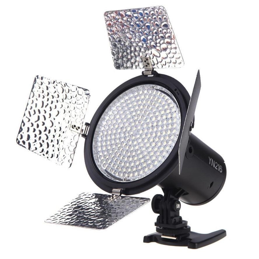 Meilleures Offres YongNuo 3200 K-5500 K LED Vidéo Lumière Caméra Tirer avec 4 Planches en Couleurs pour Canon Nikon Appareil Photo REFLEX NUMÉRIQUE