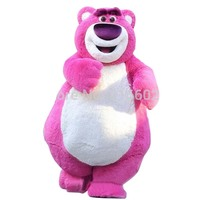 Outfit Costumes Suit Pink Bear Cartoon Mascot Costume For Adults Me Show for Halloween party costumes