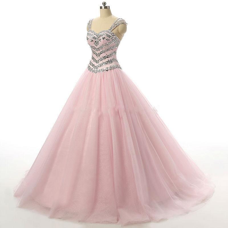 Único Vestidos De Novia De Color Rosa Princesa Ideas Ornamento ...