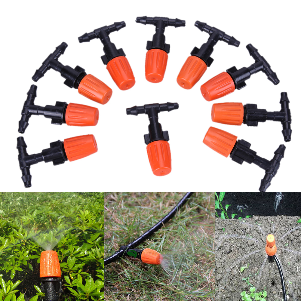 30pcs/lot DIY Drip Irrigation System Automatic Plant Self Watering Garden Hose Sprinklers Micro Drip Garden Watering System