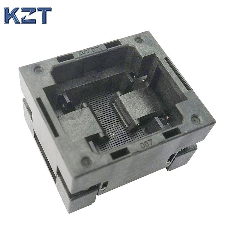 BGA25 открытым верхом гореть в гнездо тангаж 0.5 mm Размер IC 2.951x2.757mm BGA25(2.951x2.757)-0.5 BGA25 VFBGA25 гореть в программист Socket