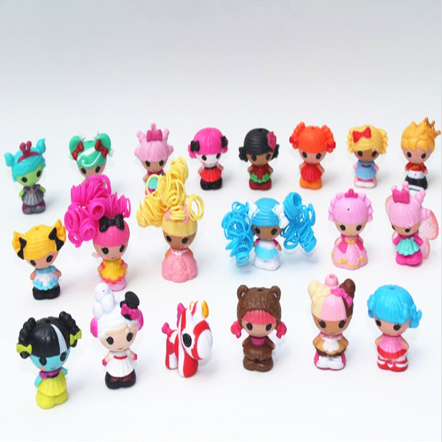 2015 New Arrival 24 Pcs Set Mga Mini Lalaloopsy Doll Toys