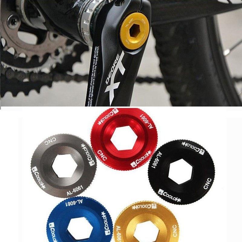 M8 Bike Crank Arm Bolt MTB Road Bike BB Cap Crankset Screw Sporting Components