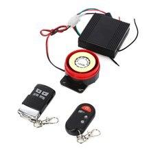 Installation анти-кражи anti-interference alarm system easy вождения водонепроницаемые мотоцикла профессиональные дистанционного