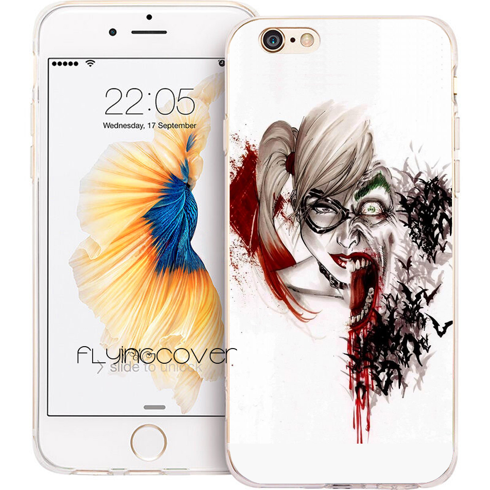 coque iphone 8 harley quinn