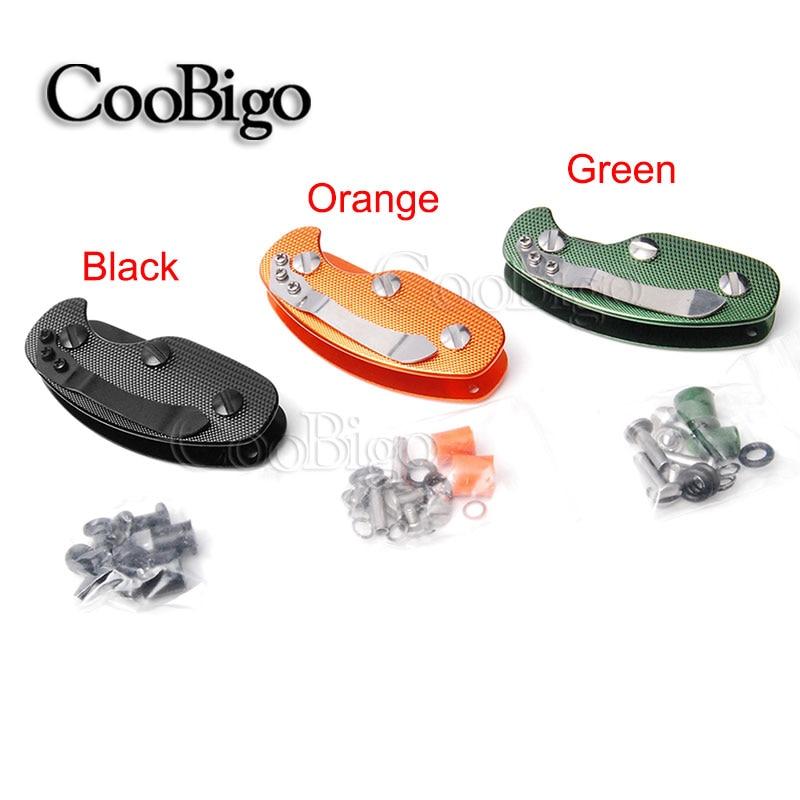 Portable Key chain Pocket Aluminum Keychain Folder Holder Organizer Clip Folder
