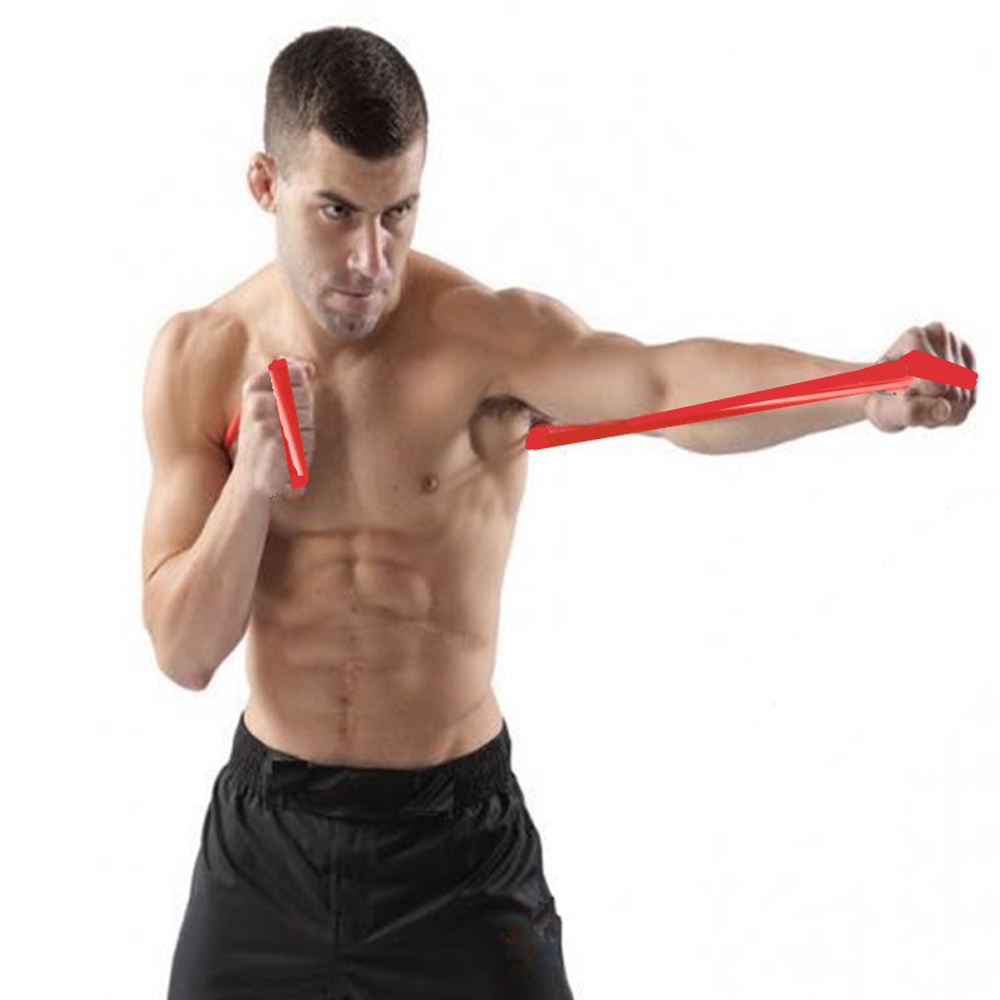Boxing Punch Speed Training Air MMA Sanda Boxer Blow Resistance Rope Elastic Band Muay Fight Resistance Endurance Thai Exercise