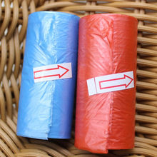 New 15pcs/roll Baby Diaper Bags Portable Disposable Baby Pet Garbage Rubbish Bags Baby Stroller Accessory for Mommy and Baby(China)
