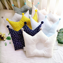 Crown Shaping Baby Newborn Pillow Infant Toddler Head Support Cotton High Quality Protection Dropship